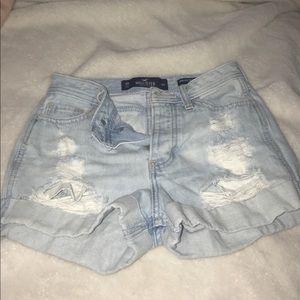 high rise boyfriend shorts size W23